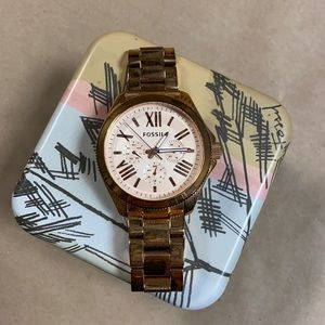 Fossil Rose Gold Cecile Multifunction Watch